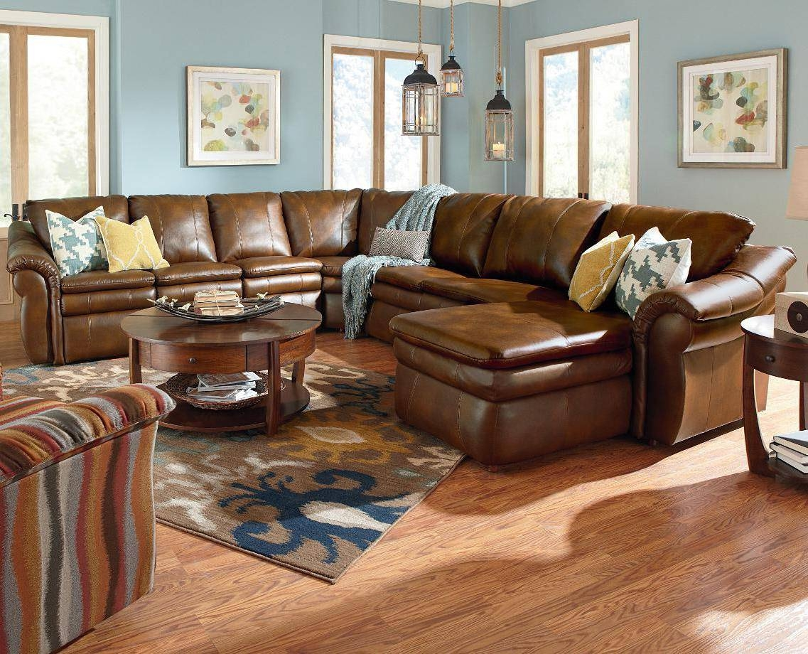 Lazy Boy Sectional CouchesLa Z Boy Collins Sectional Comfy Cozy Furniture  Pinterest