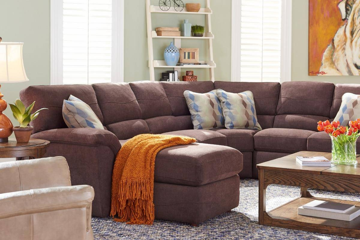 Furniture: Lazyboy Sectional With Cool Various Designs And Colors within Lazyboy Sectional Sofa (Image 11 of 25)