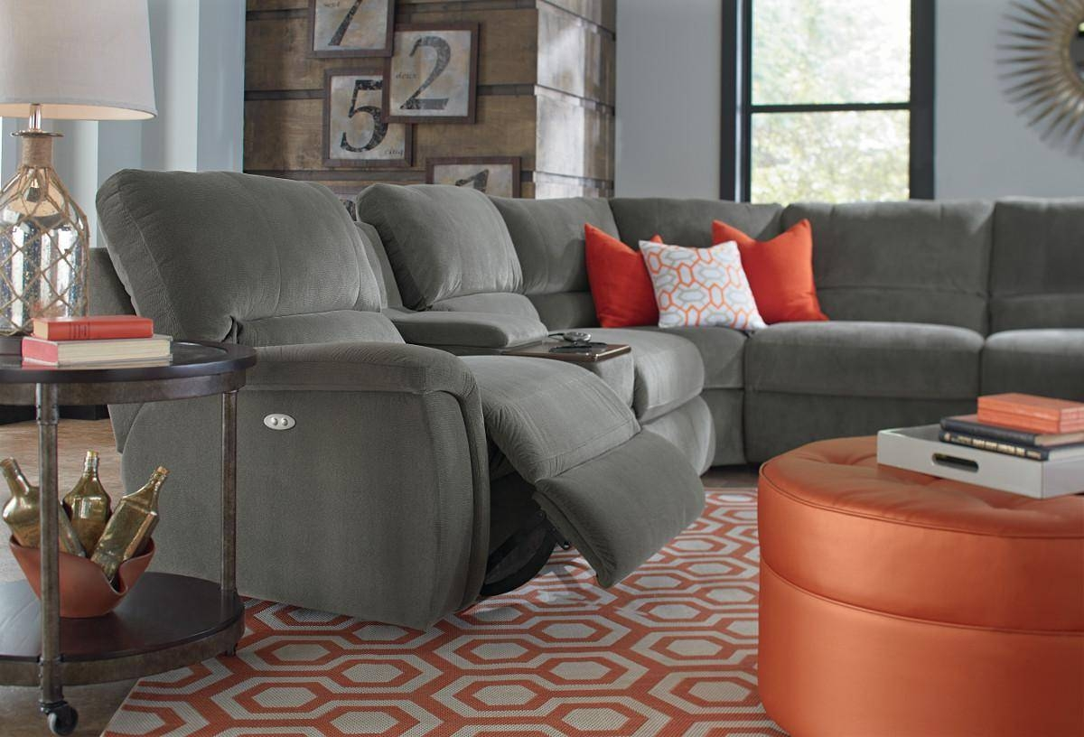 Furniture: Lazyboy Sectional With Cool Various Designs And Colors within Lazyboy Sectional Sofas (Image 12 of 25)