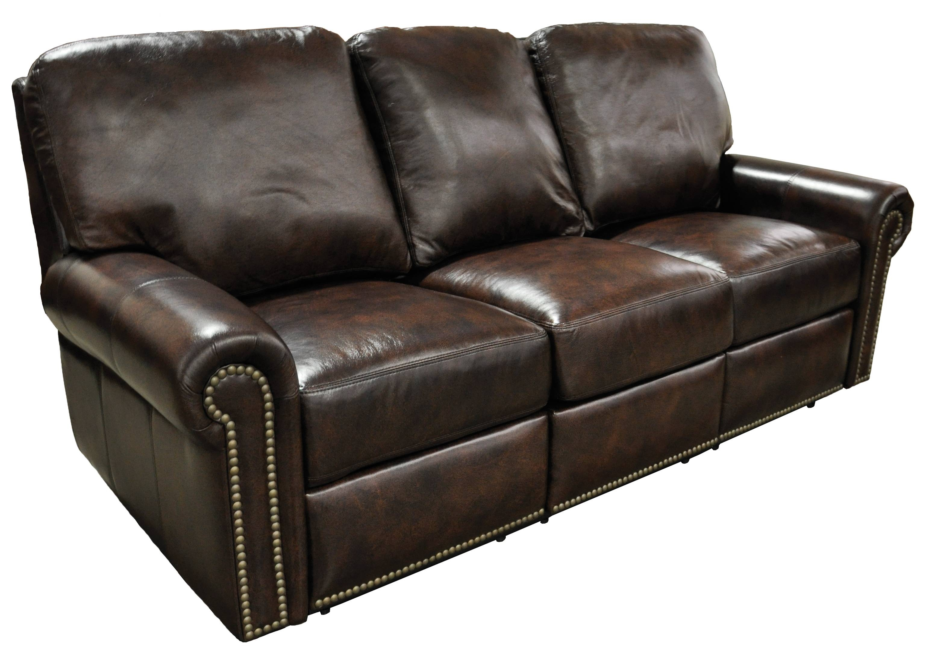 Furniture: Leather Reclining Couch | Flexsteel Sofa | Chesterfield throughout Chesterfield Recliners (Image 13 of 30)
