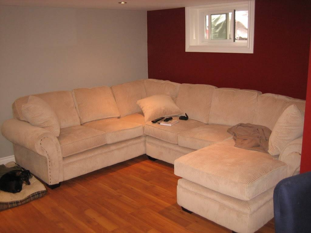 Furniture: Leather Sectional With Chaise | Oversized Sectional within Craftsman Sectional Sofa (Image 14 of 30)