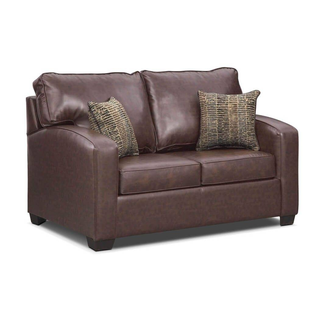 Furniture: Leather Twin Sleeper Sofa Ideas - A Twin Sleeper Sofa regarding Twin Sofa Chairs (Image 7 of 30)