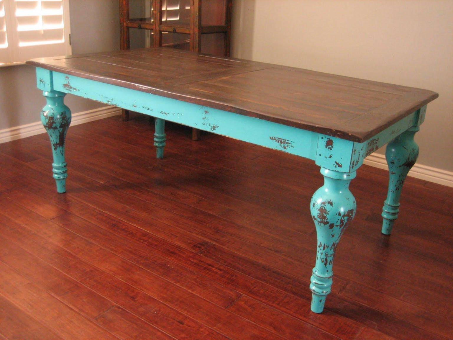 Furniture: Legend Star Distressed Coffee Table With Special Accent within Round Red Coffee Tables (Image 10 of 30)