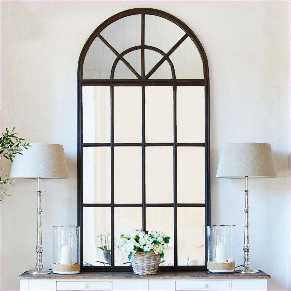 Furniture : Little Wall Mirrors Arched Mirror With Panes Large throughout Large Arched Mirrors (Image 14 of 25)