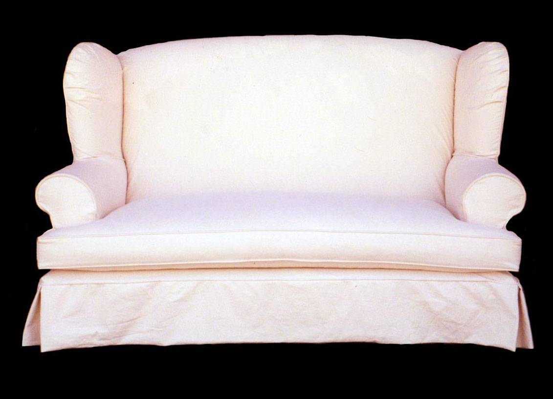 Furniture: Loveseat Cover | Slipcovers For Loveseats | Sofa Slip pertaining to Sofa Loveseat Slipcovers (Image 10 of 30)