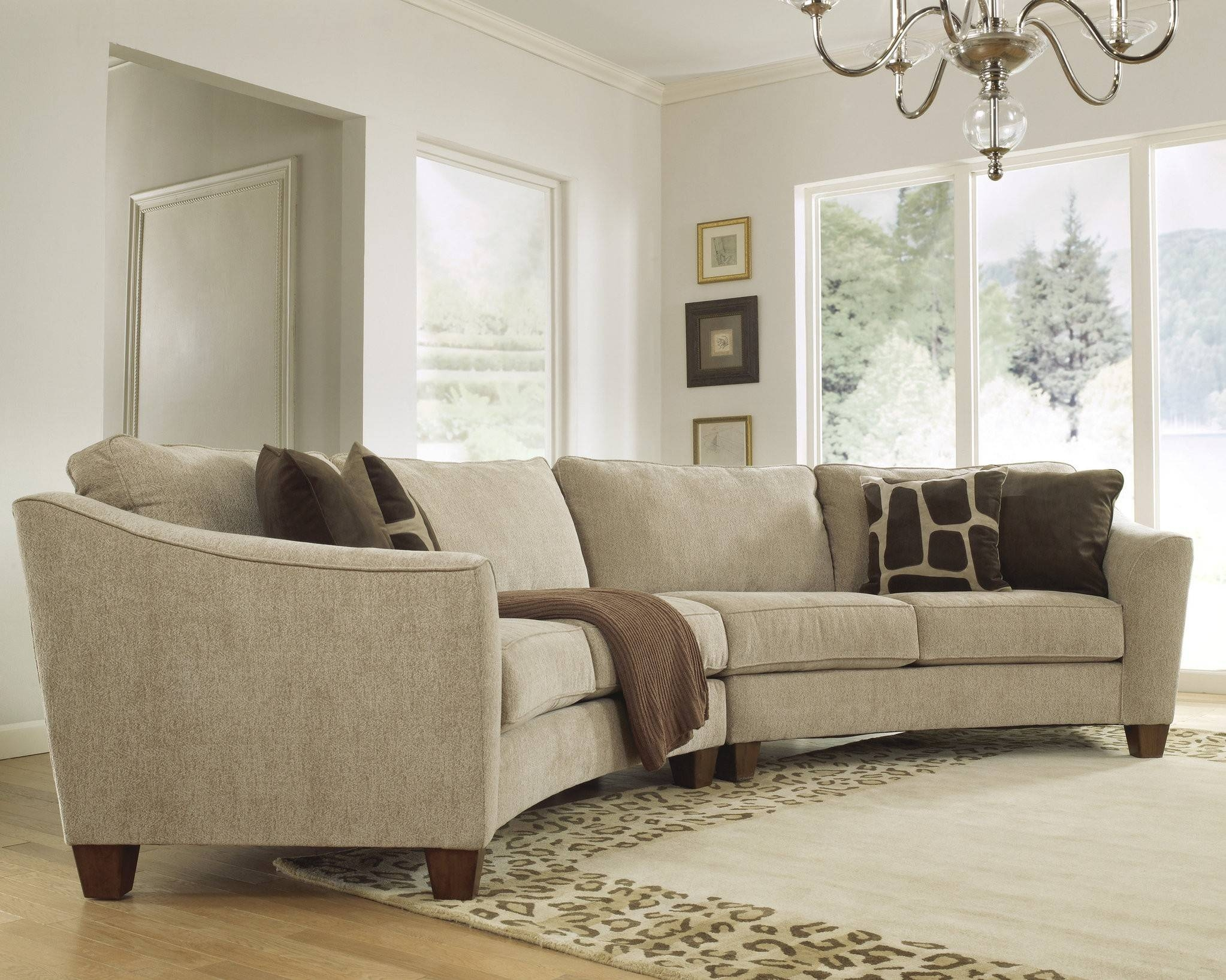 Furniture. Marvelous Oval Sectional Sofas Give A Remarkable Look for Oval Sofas (Image 6 of 30)