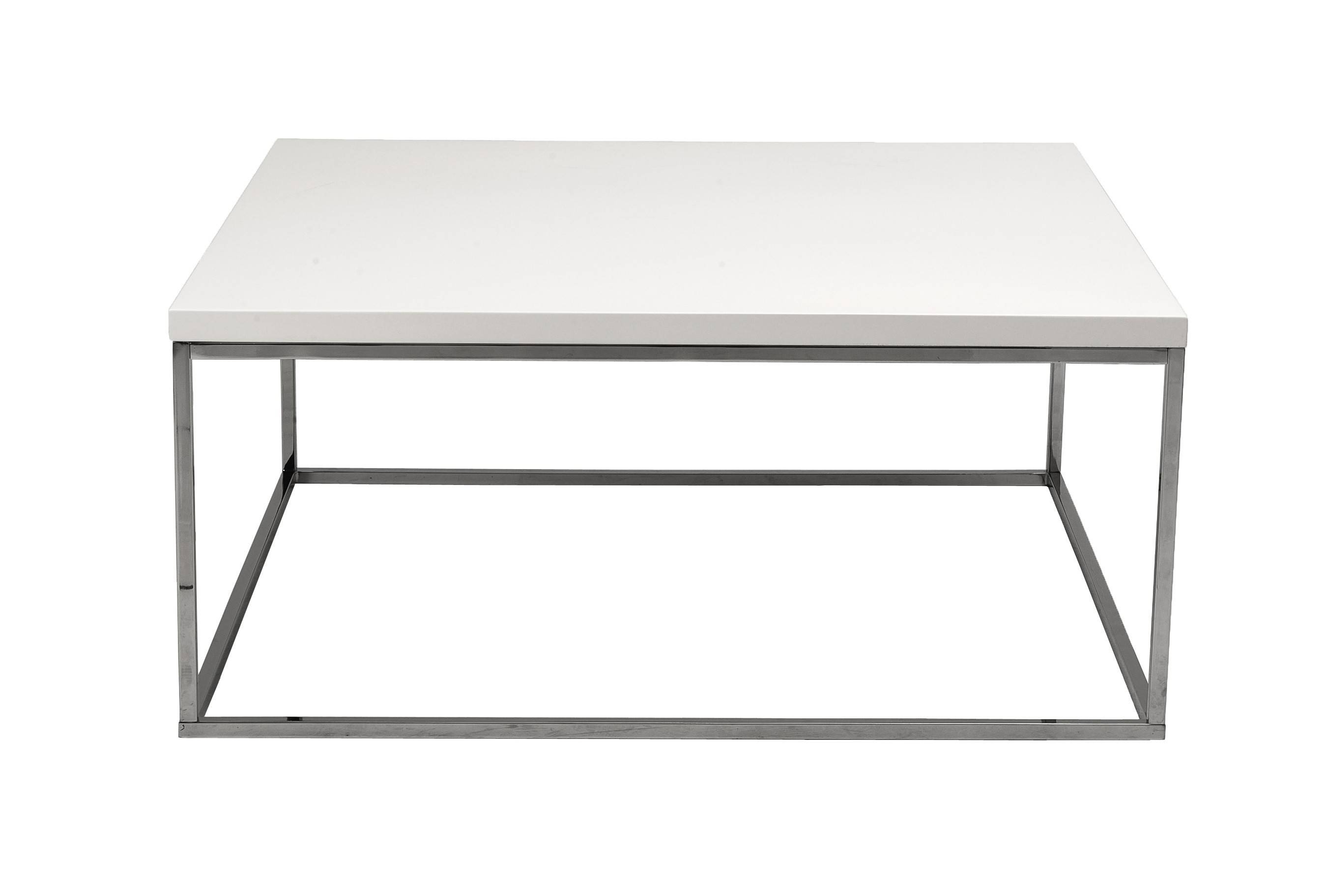 Furniture. Mesmerizing Square White Coffee Table Ideas: Modern intended for Square White Coffee Tables (Image 16 of 30)