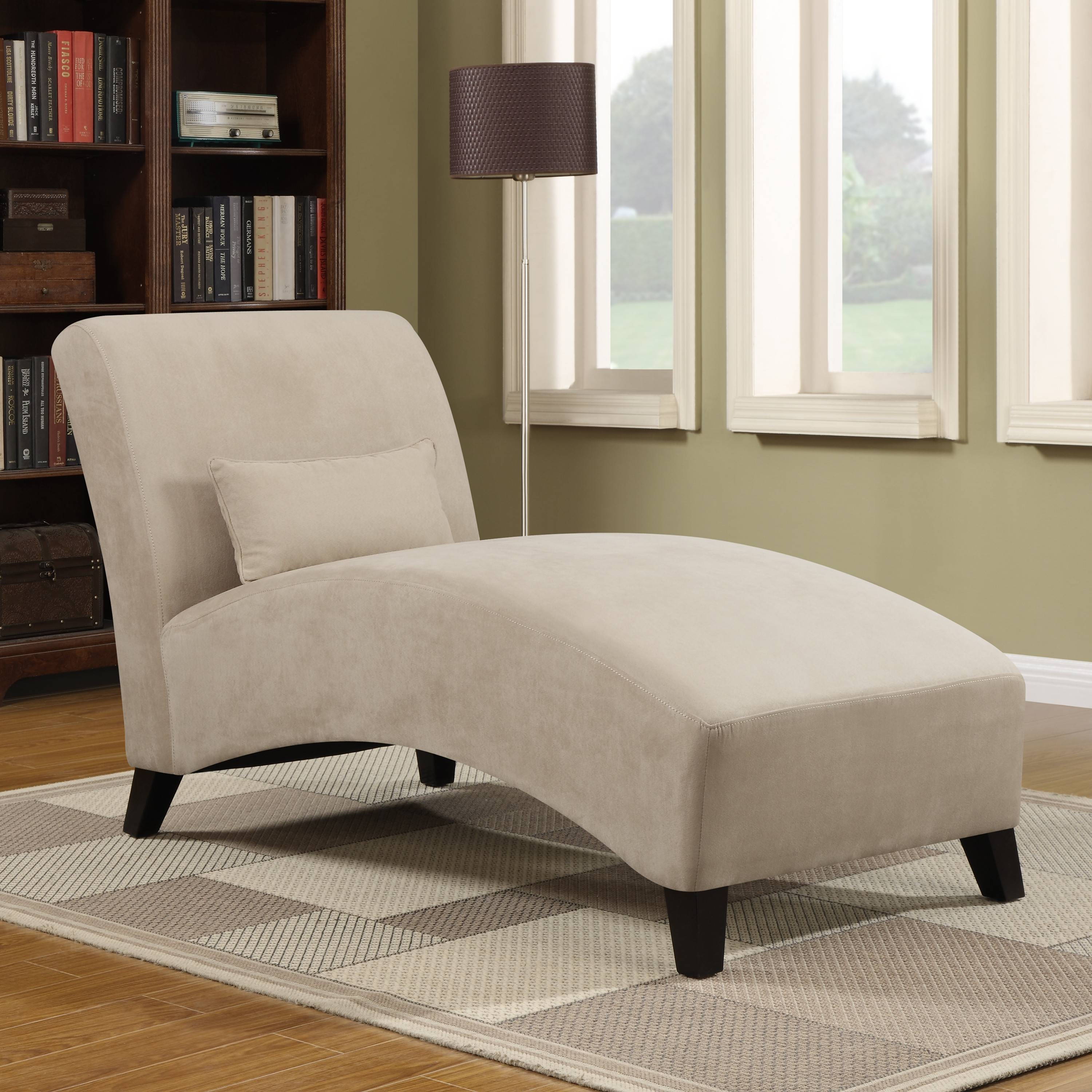 Furniture: Microfiber Chaise Lounge For Comfortable Sofa Design for Sofa Lounge Chairs (Image 14 of 30)