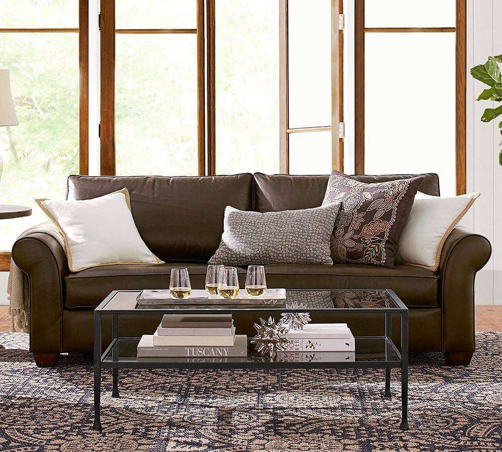 Furniture: Mitchell Gold Sleeper Sofa Reviews | Petite Sectional With  Regard To Gold Sectional Sofa