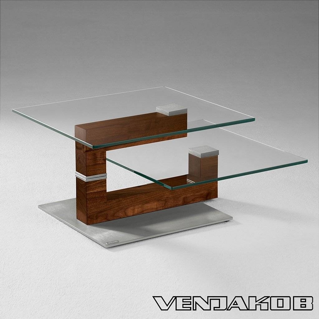 Furniture: Modern Coffee Table Design Ideas With Swivel Coffee for Revolving Glass Coffee Tables (Image 11 of 30)