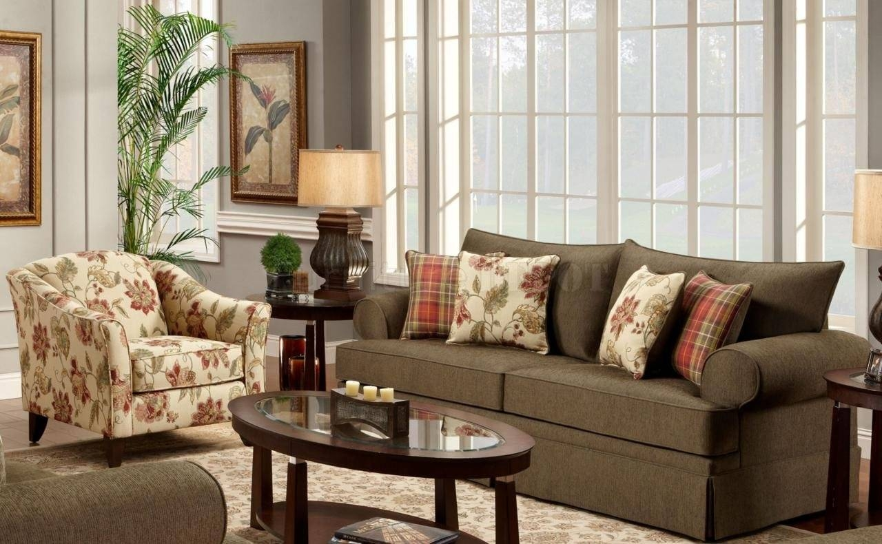 Furniture: Modern Home Furniture Matched With Brown Leather Sofa with regard to Sofa And Accent Chair Set (Image 19 of 30)