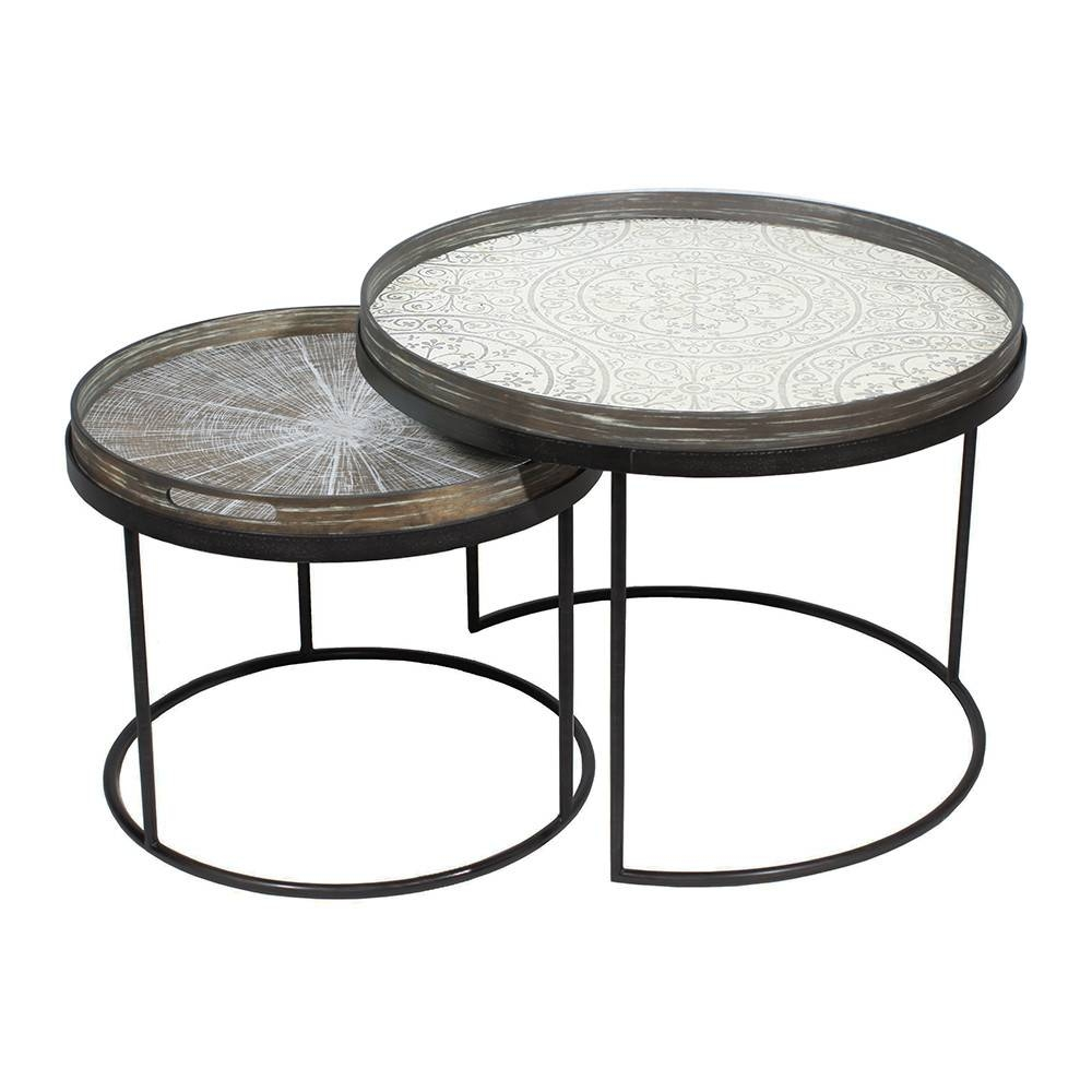 Furniture: Modern Oval Coffee Table | West Elm Coffee Tables with Round Tray Coffee Tables (Image 12 of 30)