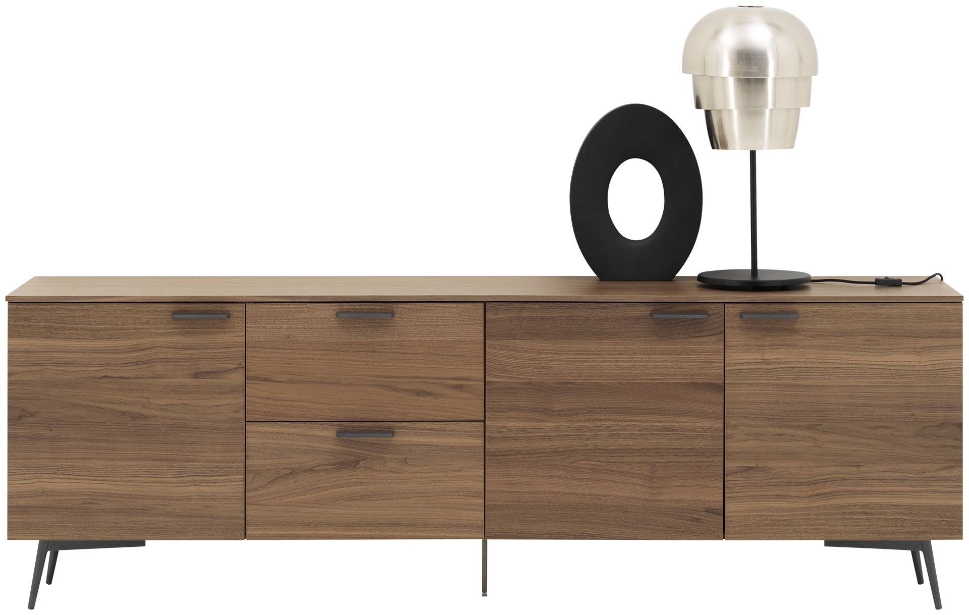 Furniture: Modern Sideboard With Tall Buffet Cabinet Also within Contemporary Sideboards (Image 18 of 30)