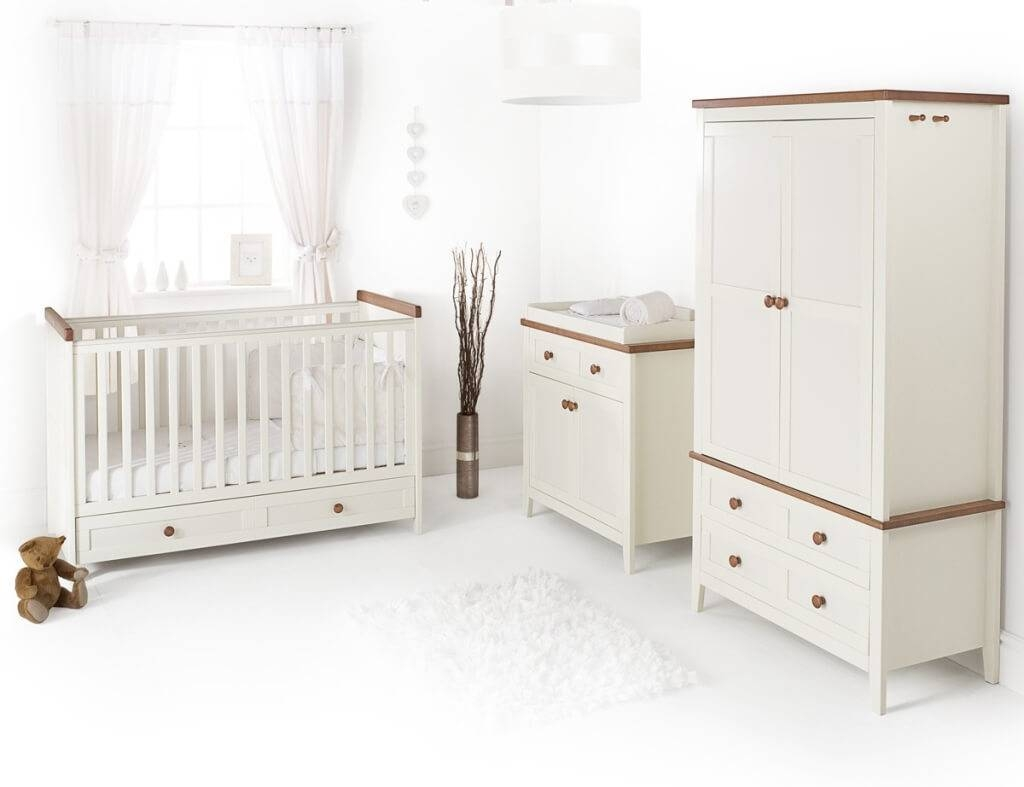 Furniture: Modern Wooden Crib Design Designer With Oak Wood Baby In Cheap Baby Wardrobes (View 19 of 30)