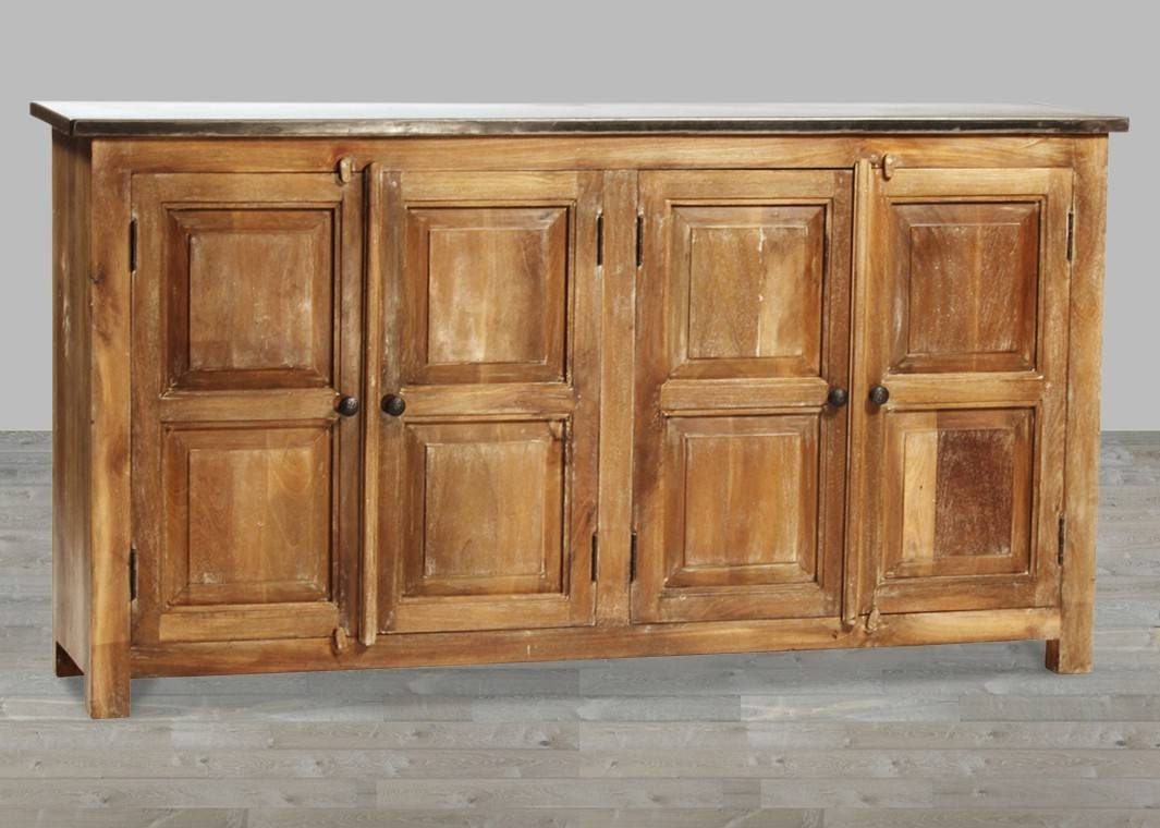 Furniture: Narrow Buffet Table | Wooden Hutch | Distressed Sideboard with regard to Distressed Wood Sideboards (Image 12 of 30)