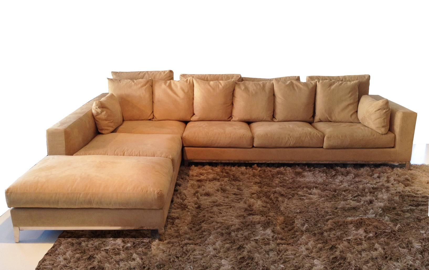 Furniture: Nice Extra Large Sectional Sofa For Large Living Room for Long Chaise Sofa (Image 9 of 25)
