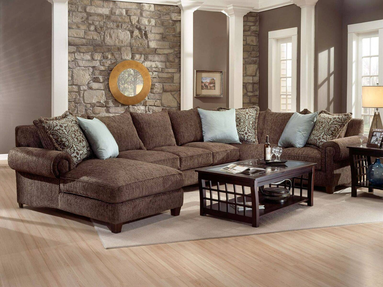 Furniture: Nice Interior Furniture Designrobert Michaels in Goose Down Sectional Sofa (Image 4 of 25)