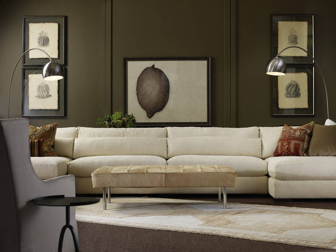 Furniture: Nice Interior Furniture Designrobert Michaels throughout Down Feather Sectional Sofa (Image 17 of 30)
