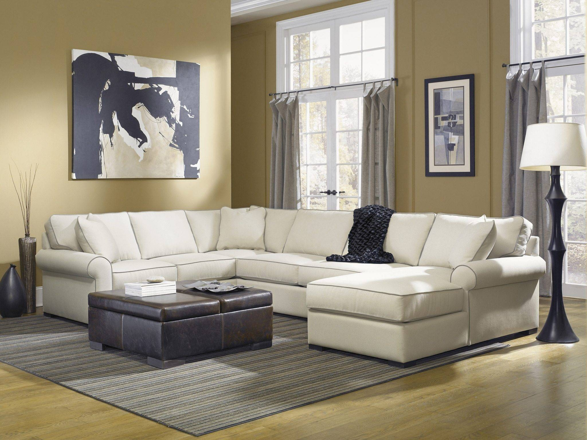 Furniture: Nice Interior Furniture Designrobert Michaels with regard to Down Filled Sectional Sofa (Image 8 of 25)