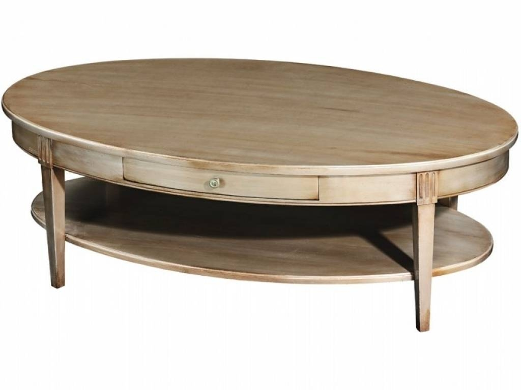 30 Best Collection of Round Oak Coffee Tables