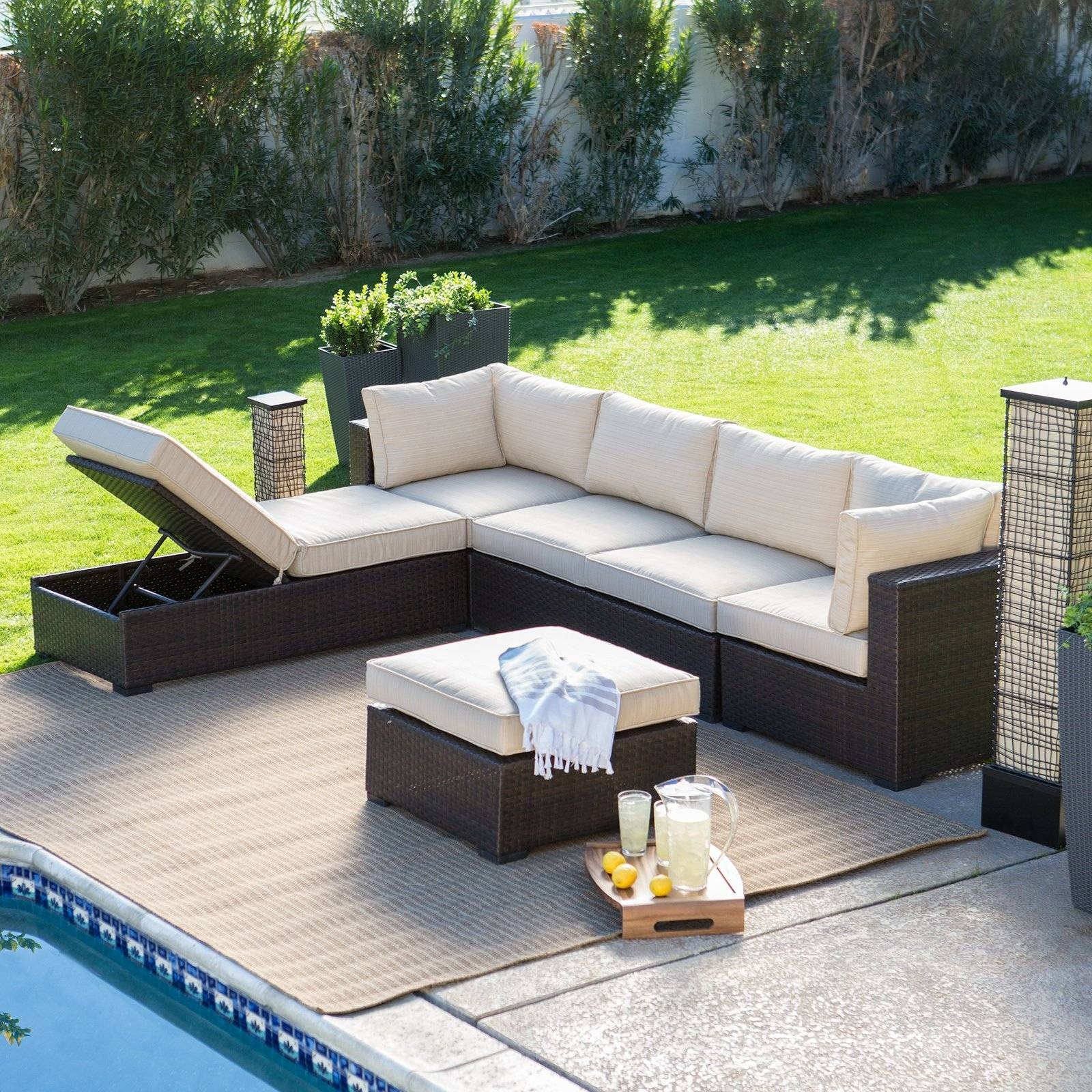 Furniture: Outdoor Sectionals On Clearance | Closeout Patio regarding Closeout Sofas (Image 14 of 30)