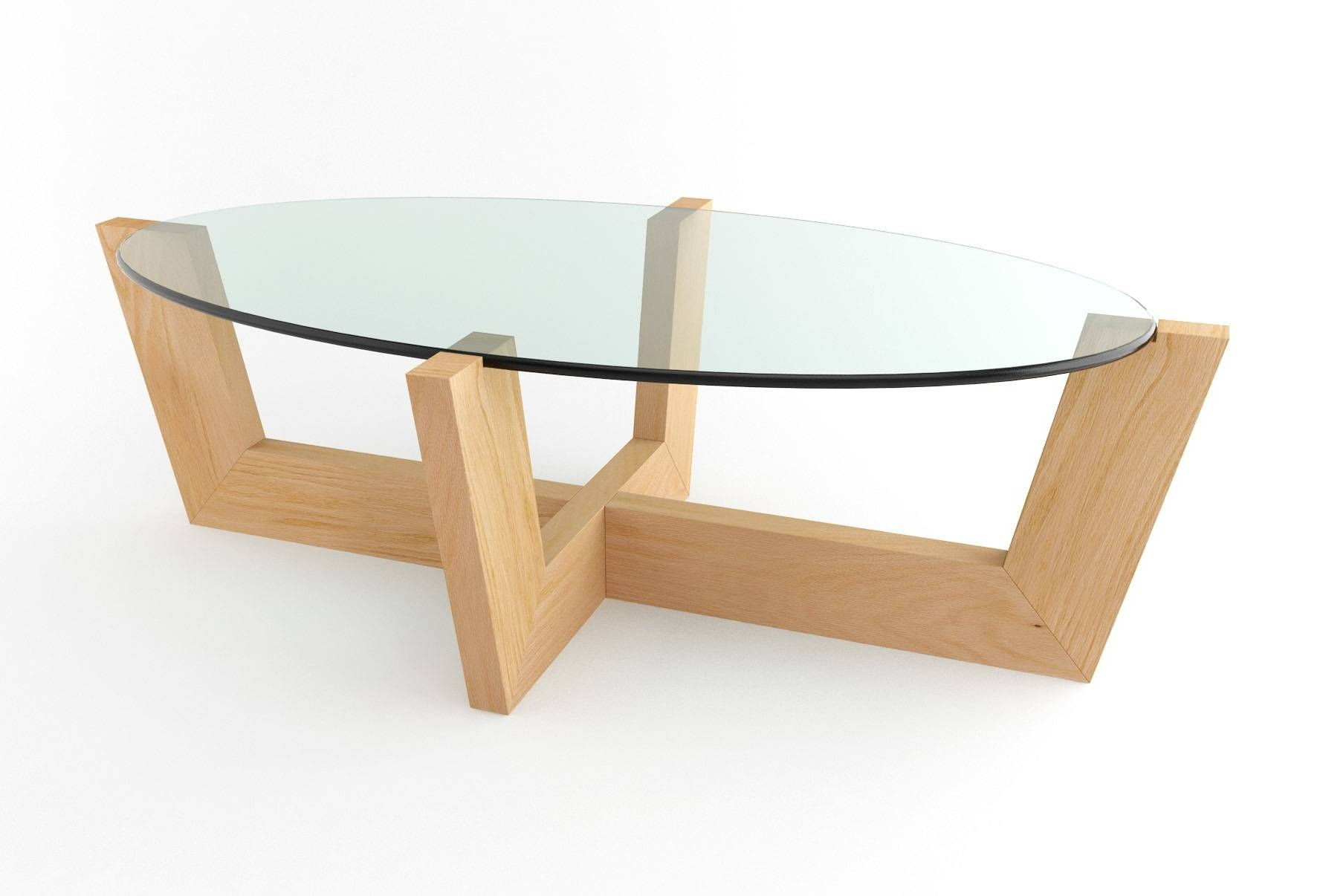 Furniture: Oval Cocktail Table | Oval Glass Coffee Table | Small Within Oval Glass Coffee Tables (View 13 of 30)