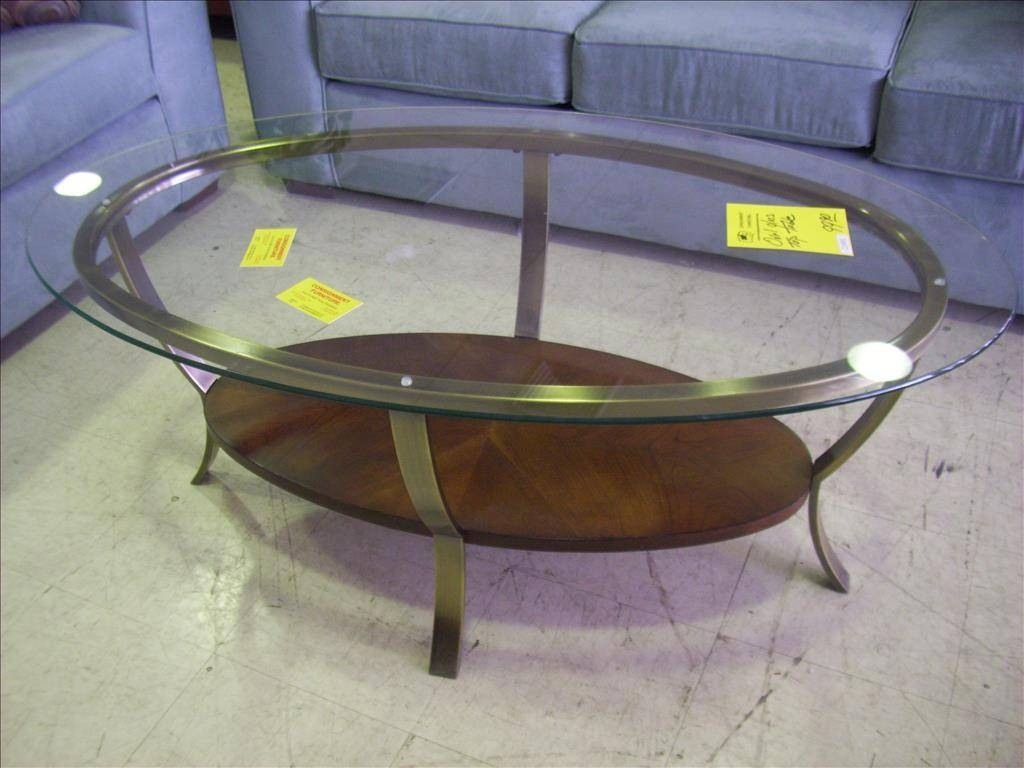 Furniture. Oval Glass Coffee Table For Living Room: Latest Oval within Oval Black Glass Coffee Tables (Image 14 of 30)