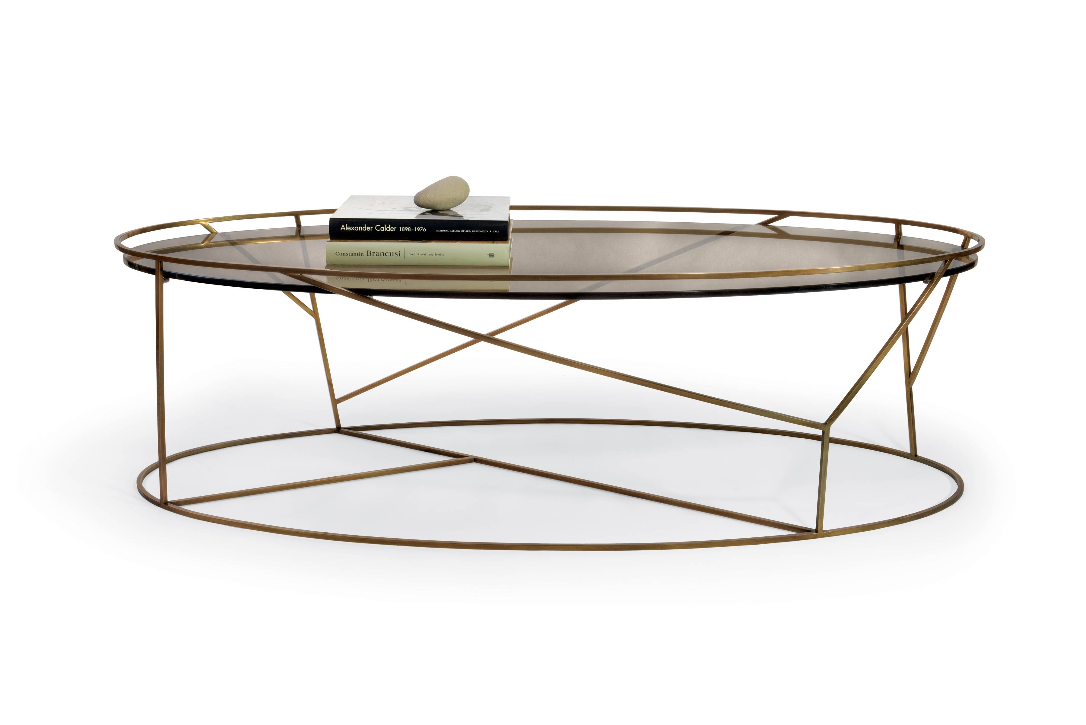 Furniture: Oval Glass Top Coffee Table | Oval Coffee Table Glass for Oval Glass Coffee Tables (Image 11 of 30)