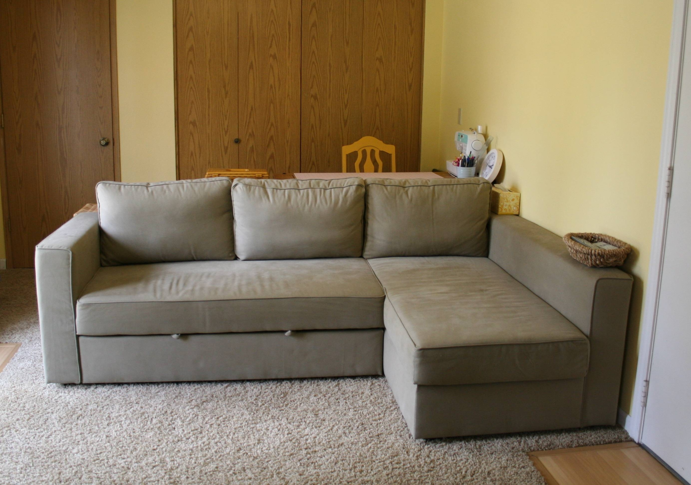 Furniture: Oversized Couches | Sleeper Sofa With Chaise intended for Ikea Sleeper Sofa Sectional (Image 11 of 25)