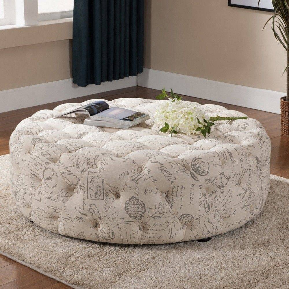 Furniture: Oversized Ottoman Coffee Table For Stylish Living Room throughout Animal Print Ottoman Coffee Tables (Image 18 of 30)