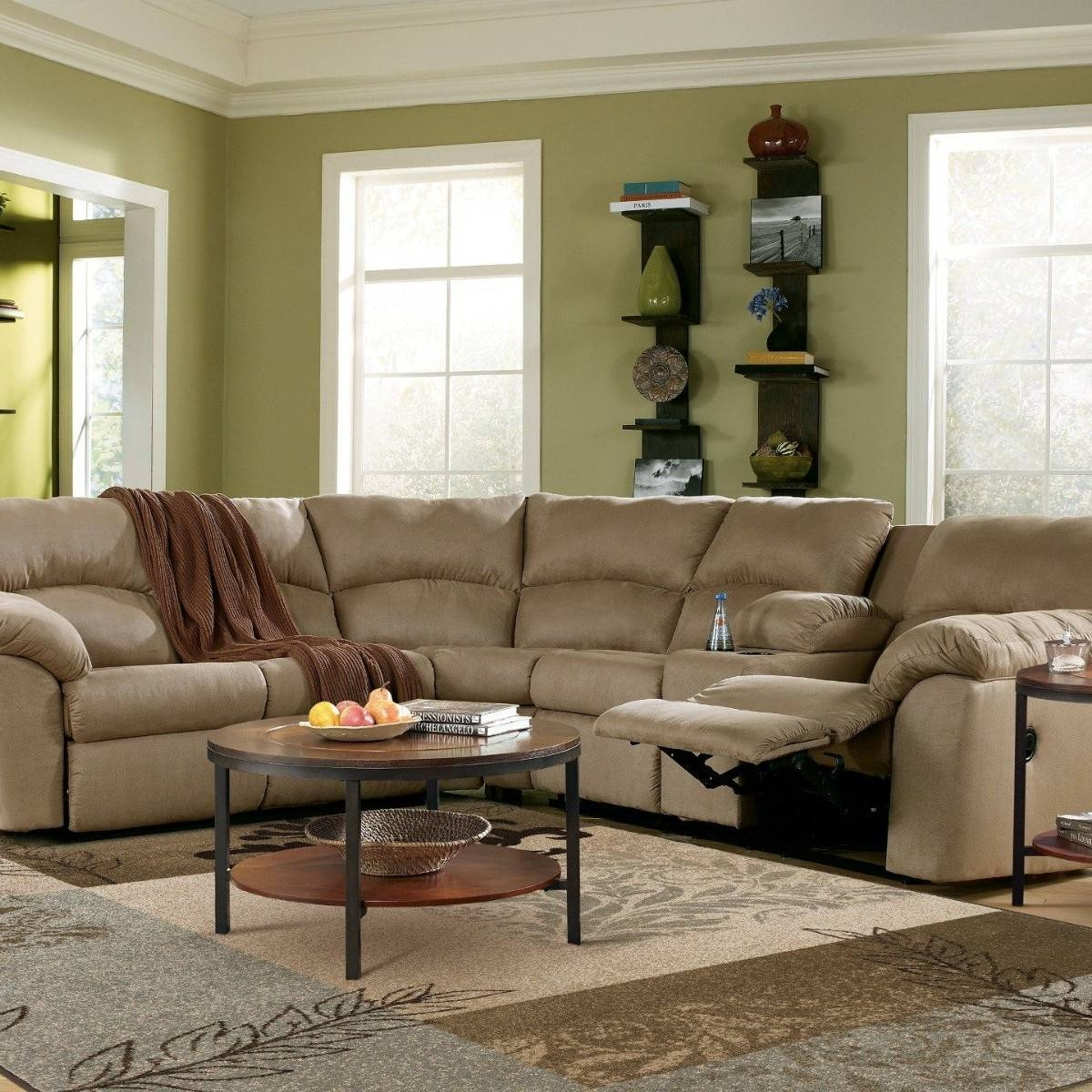 Furniture: Oversized Sectionals | L Shaped Sectional | Sectional with C Shaped Sectional Sofa (Image 12 of 30)