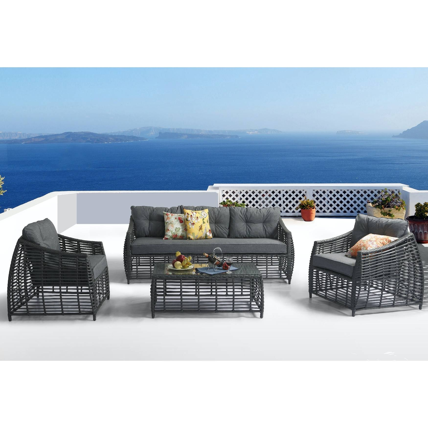 Furniture: Patio Sofas On Clearance | Closeout Patio Furniture intended for Closeout Sofas (Image 21 of 30)