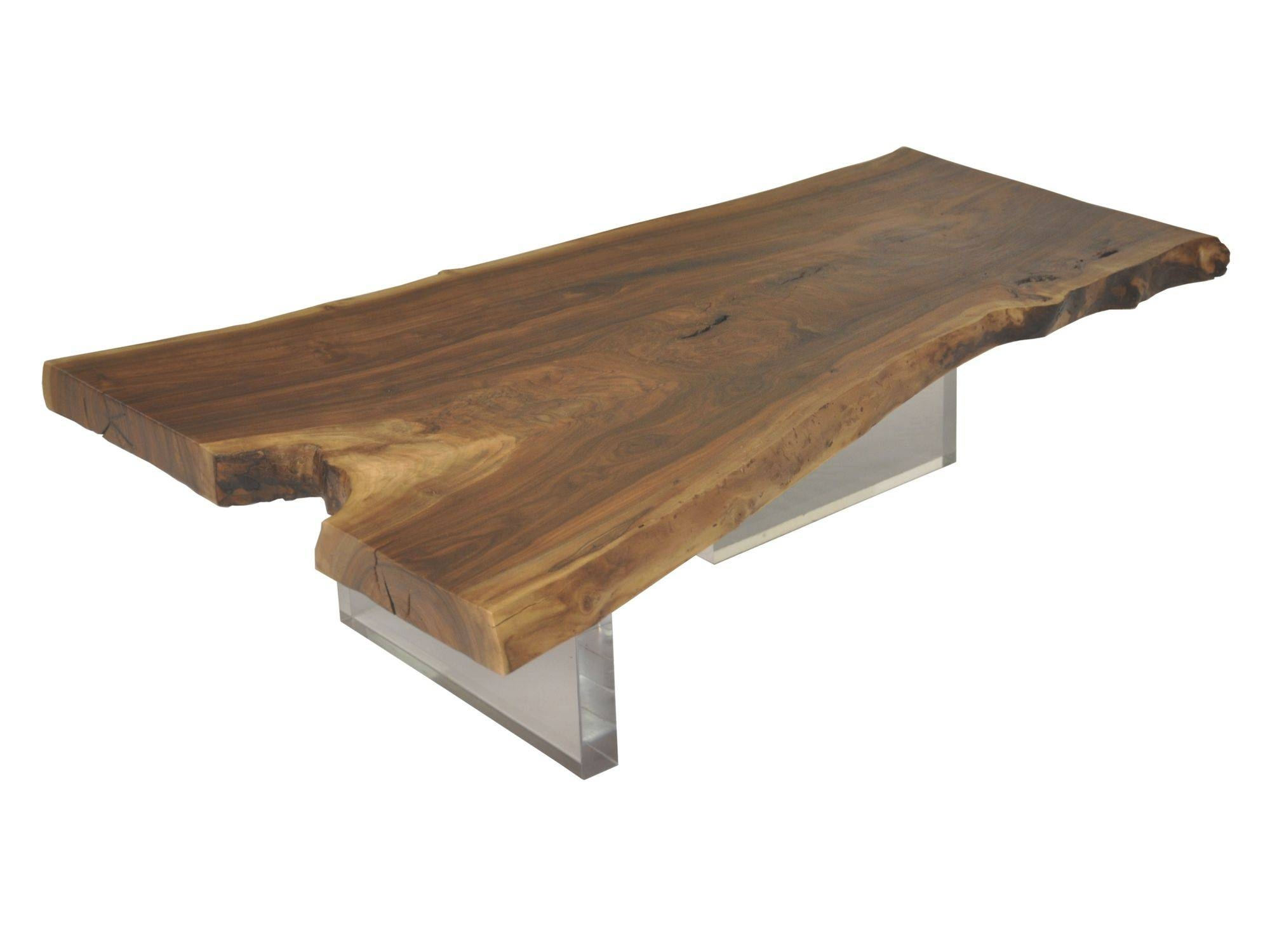 Furniture: Raw Wood Coffee Table | Live Edge Dining Table | Coffee with Large Coffee Tables With Storage (Image 18 of 30)