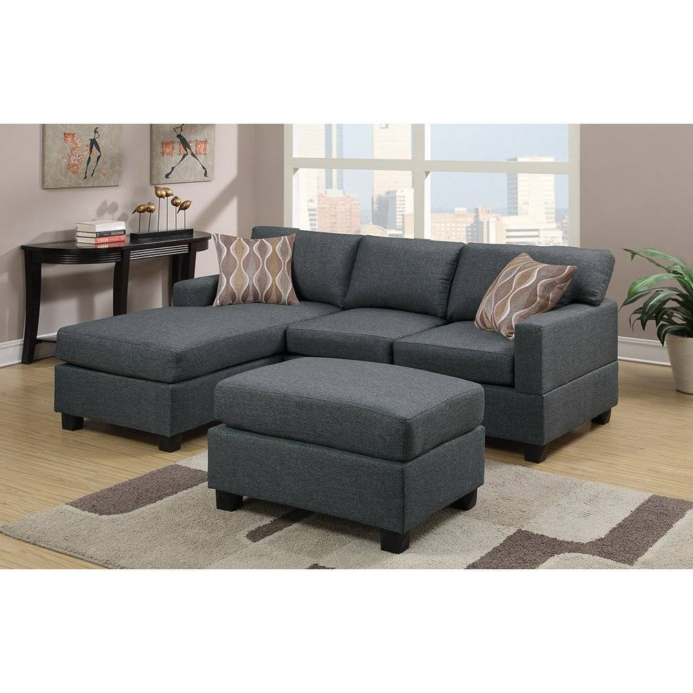 Furniture: Reversible Sectional Sofa | Reversible Chaise Sectional in Sofa With Chaise And Ottoman (Image 19 of 30)