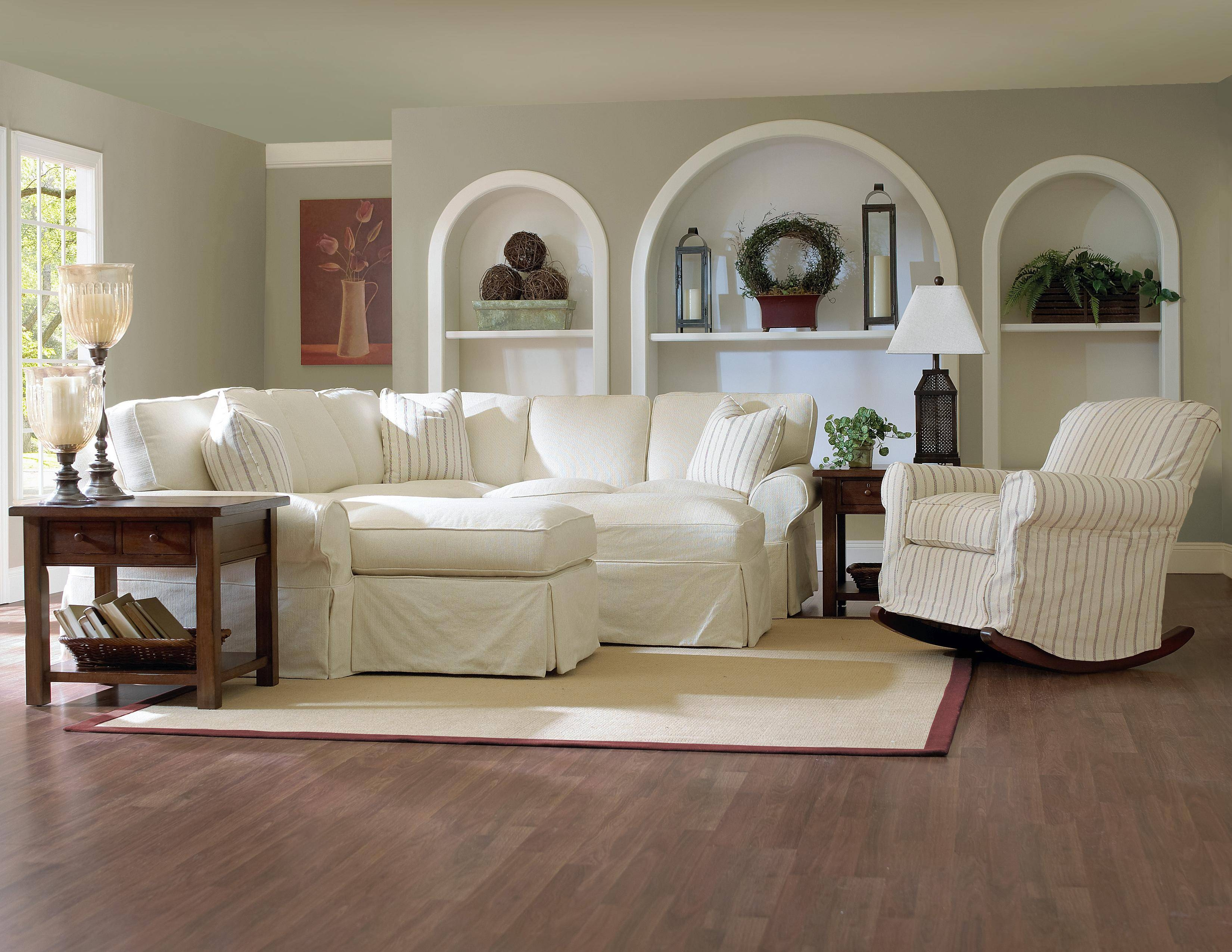 Furniture: Room With A Unique Richness And Sumptuous Softness With intended for Slipcovers For Sectional Sofas With Recliners (Image 12 of 30)