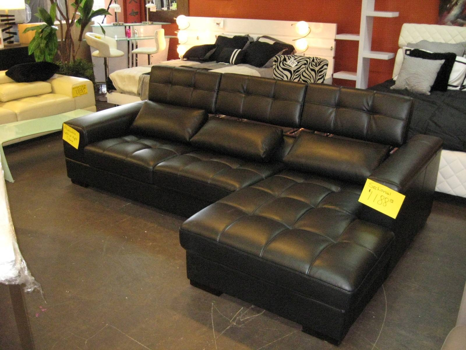 Furniture & Rug: Cheap Sectional Couches For Home Furniture Idea with regard to Leather Modular Sectional Sofas (Image 4 of 30)