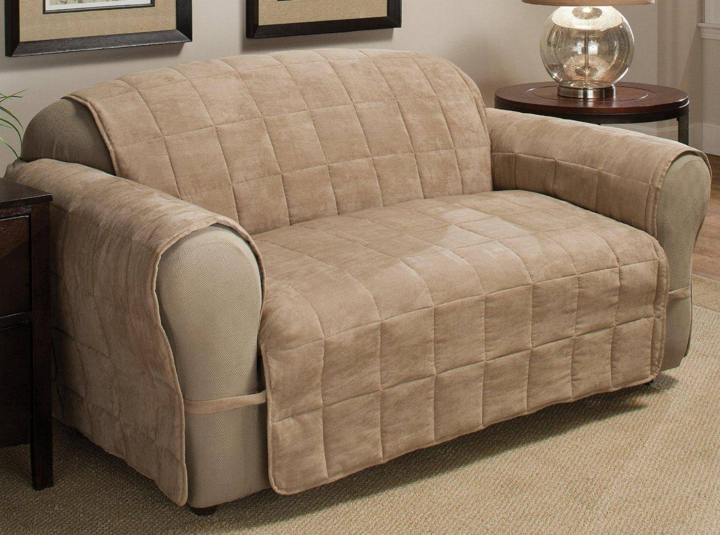 Furniture & Rug: Chic Recliner Covers For Prettier Recliner Ideas Regarding Sofa And Chair Covers (Photo 2 of 30)
