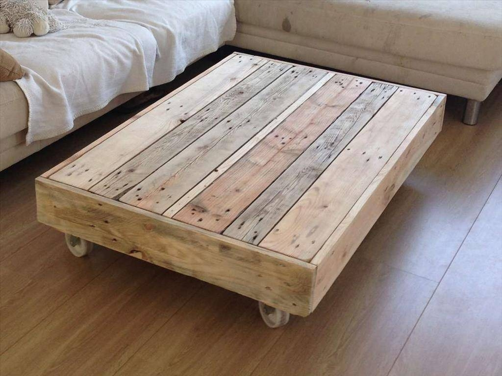 Furniture: Rustic Coffee Table For All Types Of Rooms In The House pertaining to Rustic Coffee Table With Wheels (Image 12 of 30)