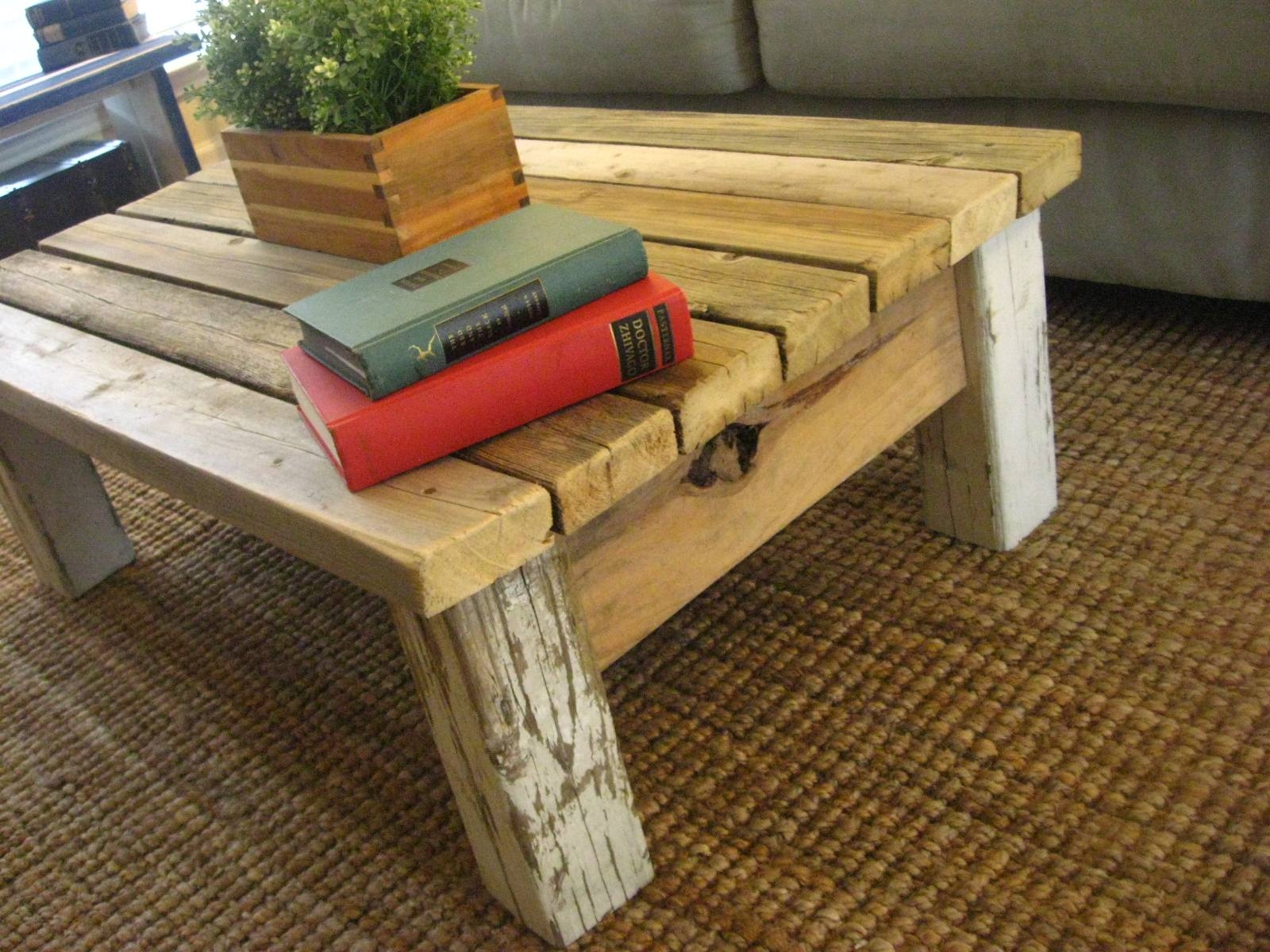 30 Ideas of Rustic Wood Diy Coffee Tables