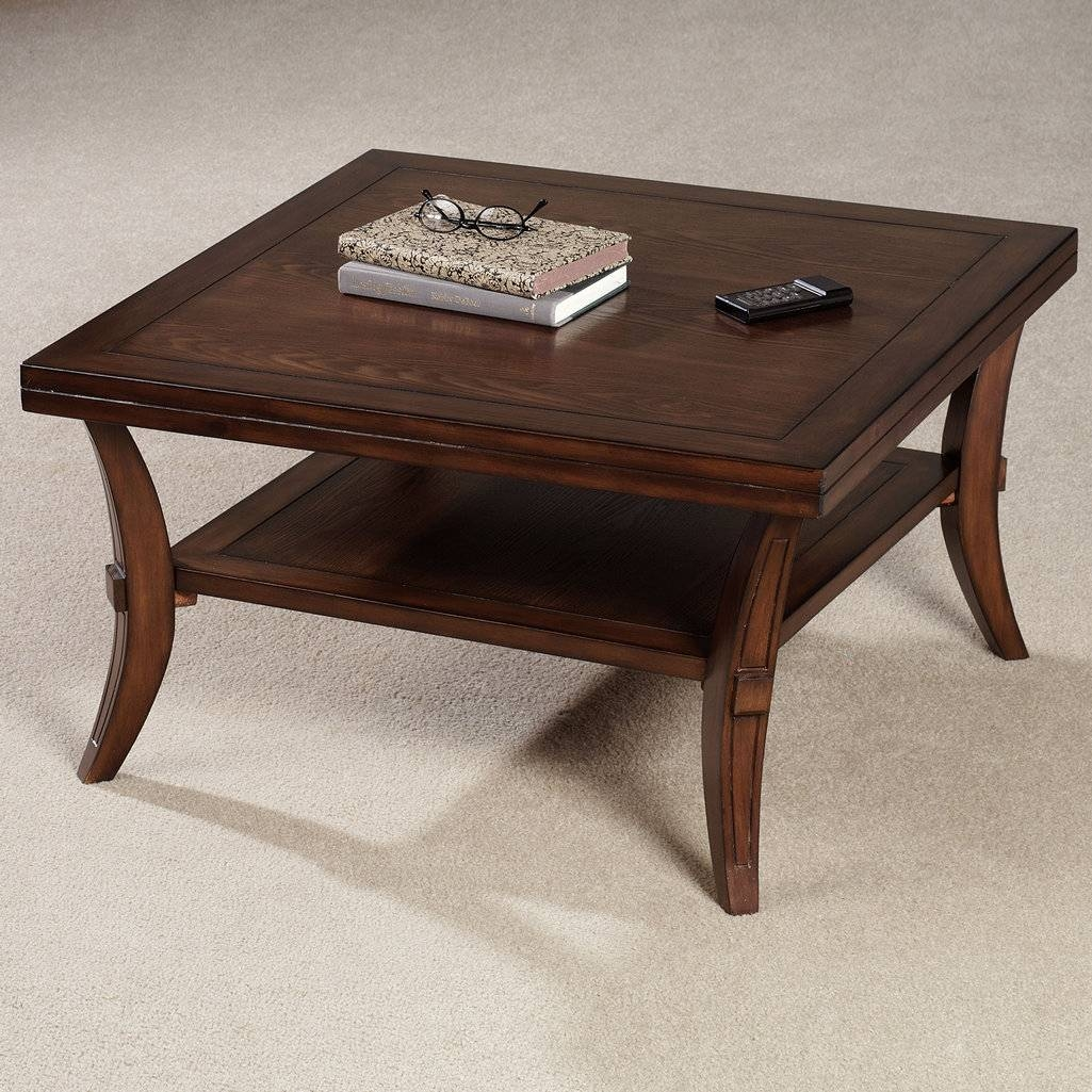 Furniture: Rustic Oversized Square Coffee Tables Oak - Square intended for Big Square Coffee Tables (Image 23 of 30)
