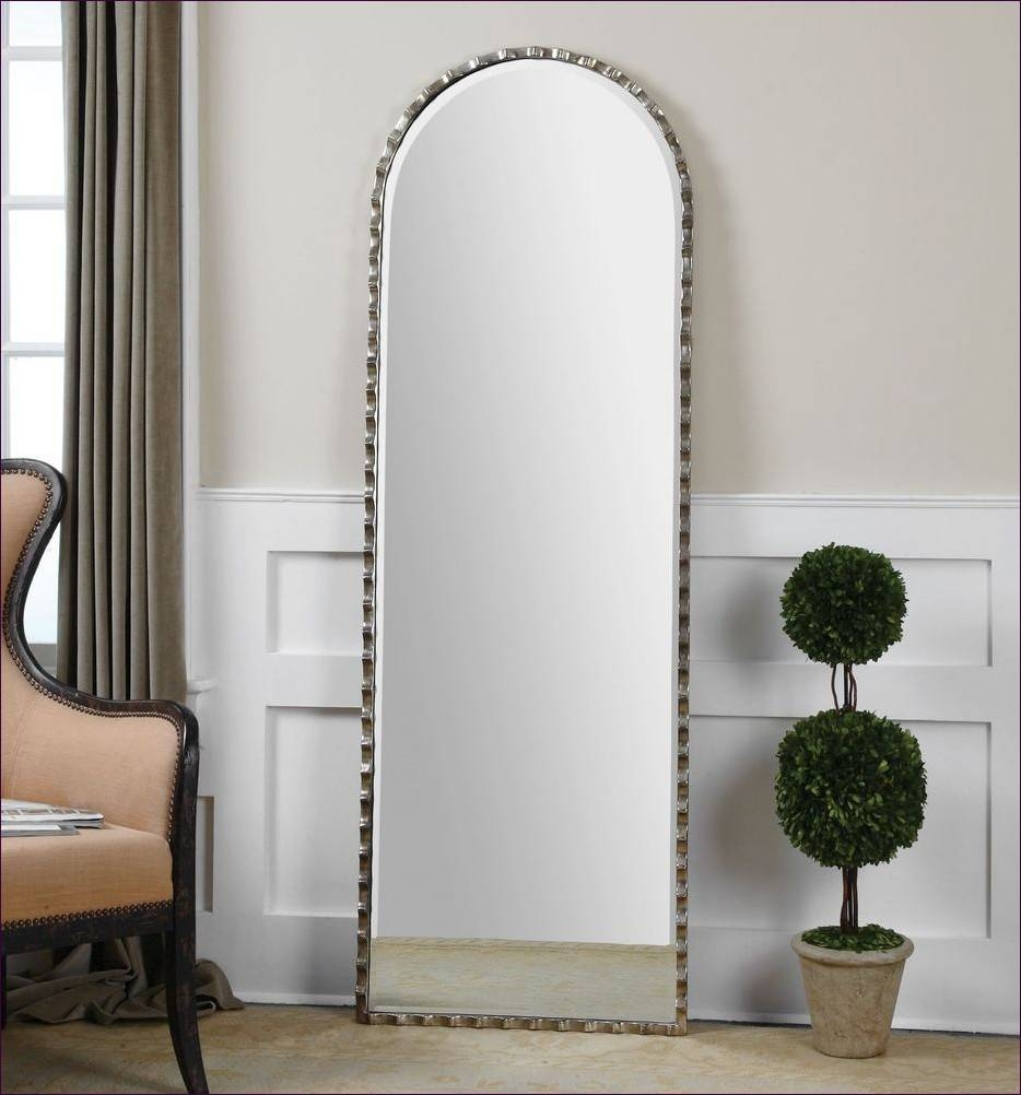 Furniture : Rustic Wall Mirrors Arched Decorative Mirror Over The with regard to Silver Ornate Wall Mirrors (Image 12 of 25)
