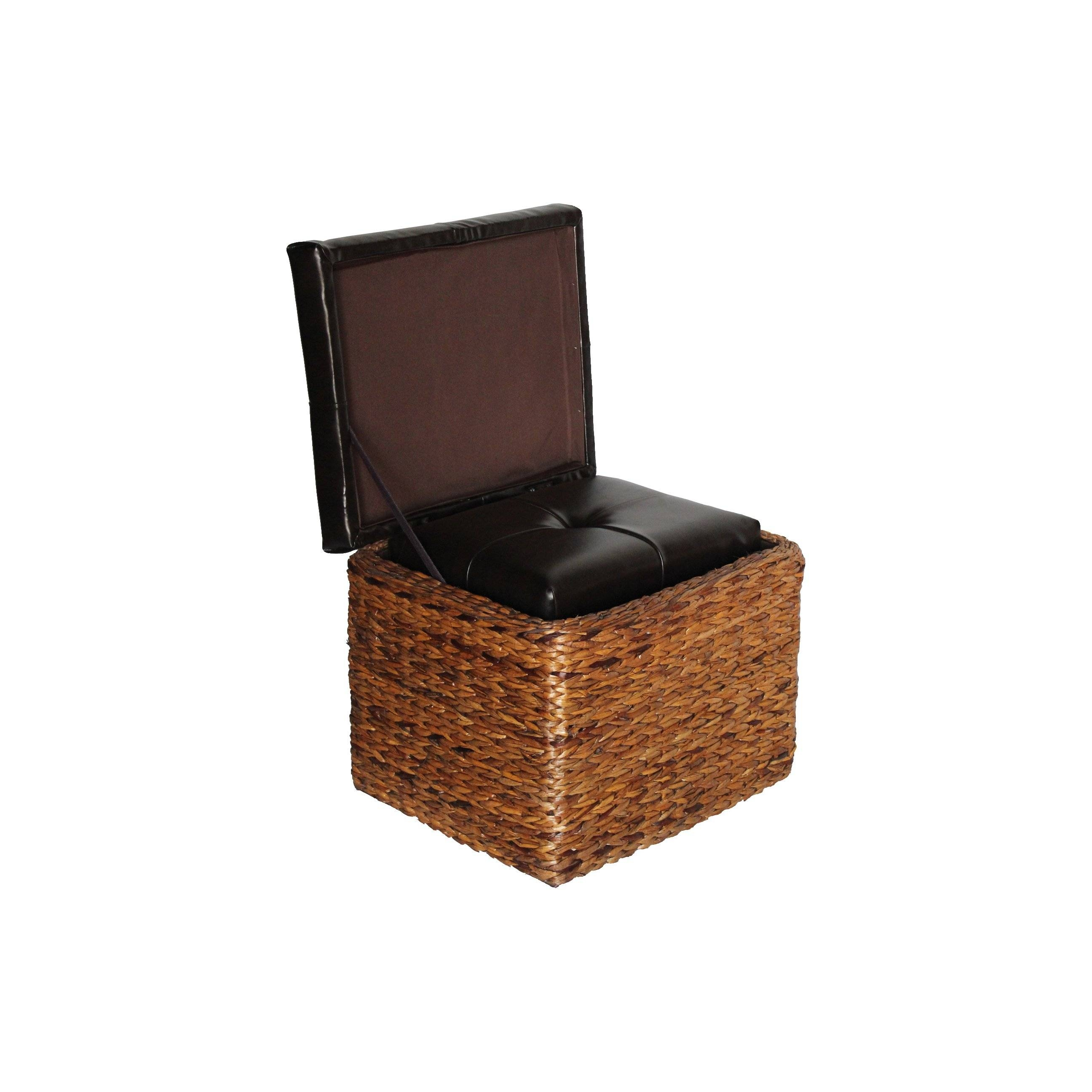 Furniture: Rustic Wicker Trunk For Vintage Storage Ideas intended for Silver Trunk Coffee Tables (Image 13 of 30)
