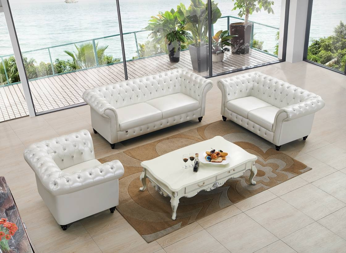 Furniture: Seagrass Table | Seagrass Couch | Coastal Coffee Table with regard to French White Coffee Tables (Image 23 of 30)