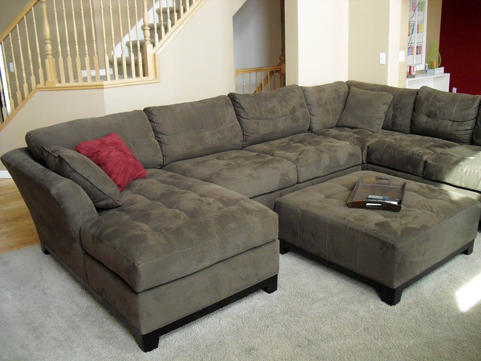 Furniture: Sectional Couch For Sale | L Shaped Couch | Extra Large regarding Green Sectional Sofa With Chaise (Image 9 of 30)