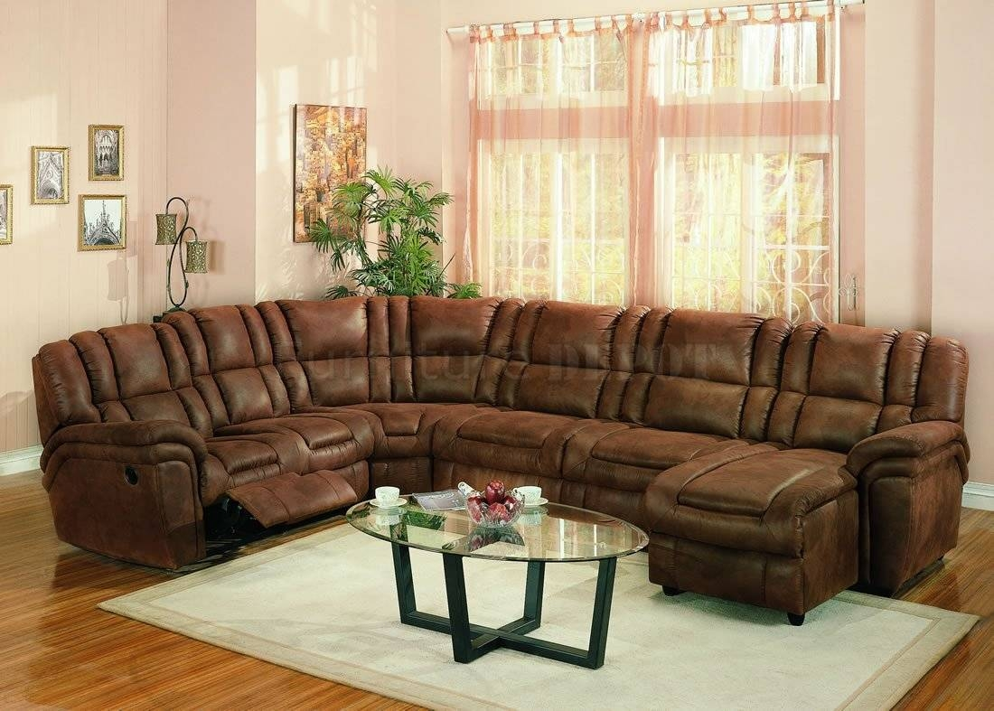 Furniture: Sectional Couches With Recliners | U Shaped Sectional pertaining to Sectional Sofa Recliners (Image 12 of 30)