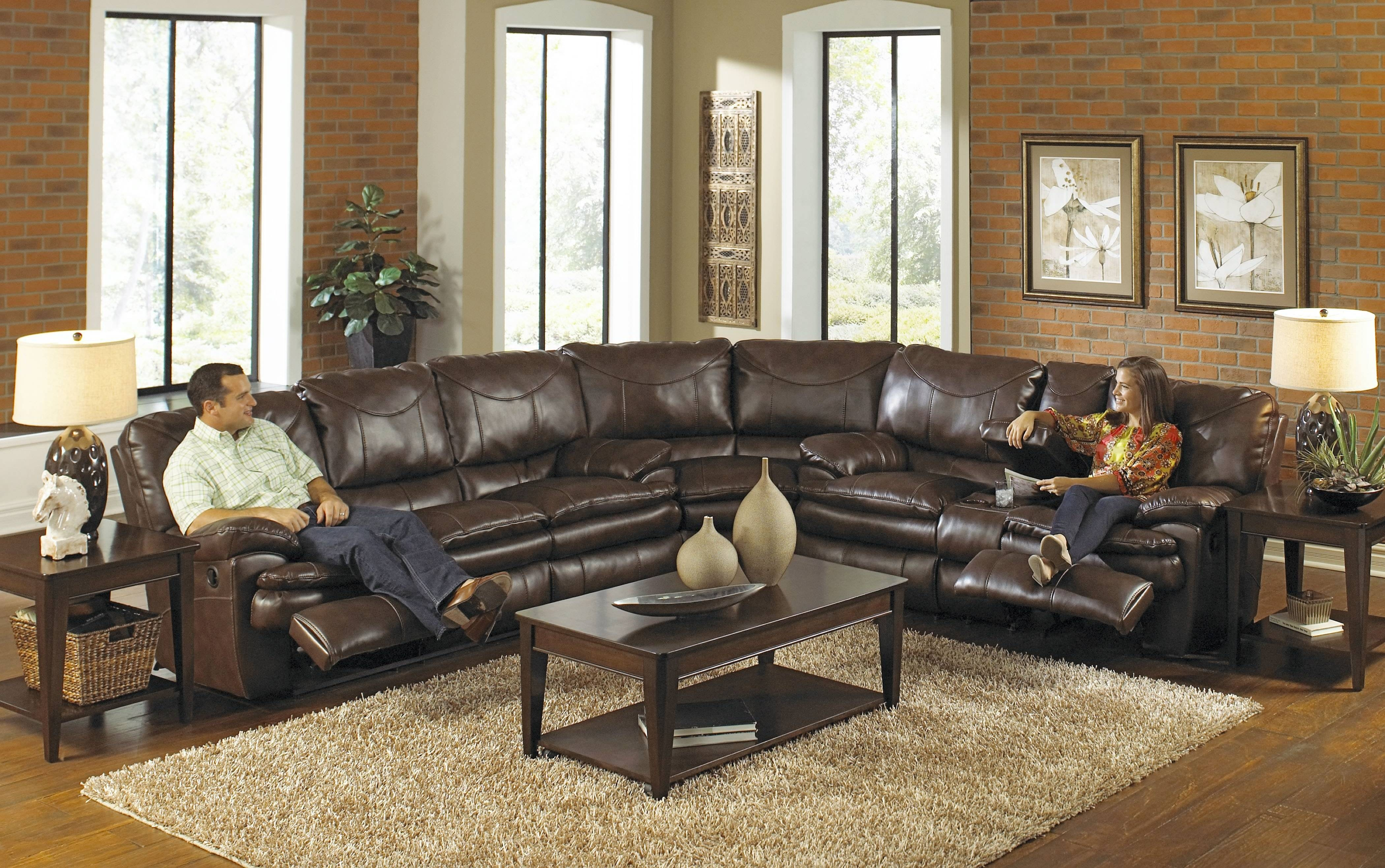 Furniture: Sectional Couches With Recliners | U Shaped Sectional with regard to Sectional Sofa Recliners (Image 14 of 30)
