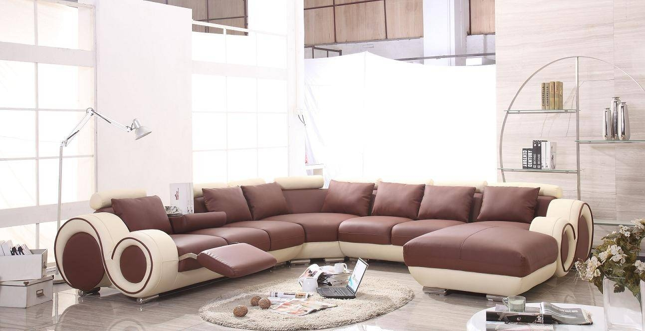 Furniture: Sectional Recliner Sofas | Sectional Sofa With Within Sectional Sofa Recliners (View 15 of 30)