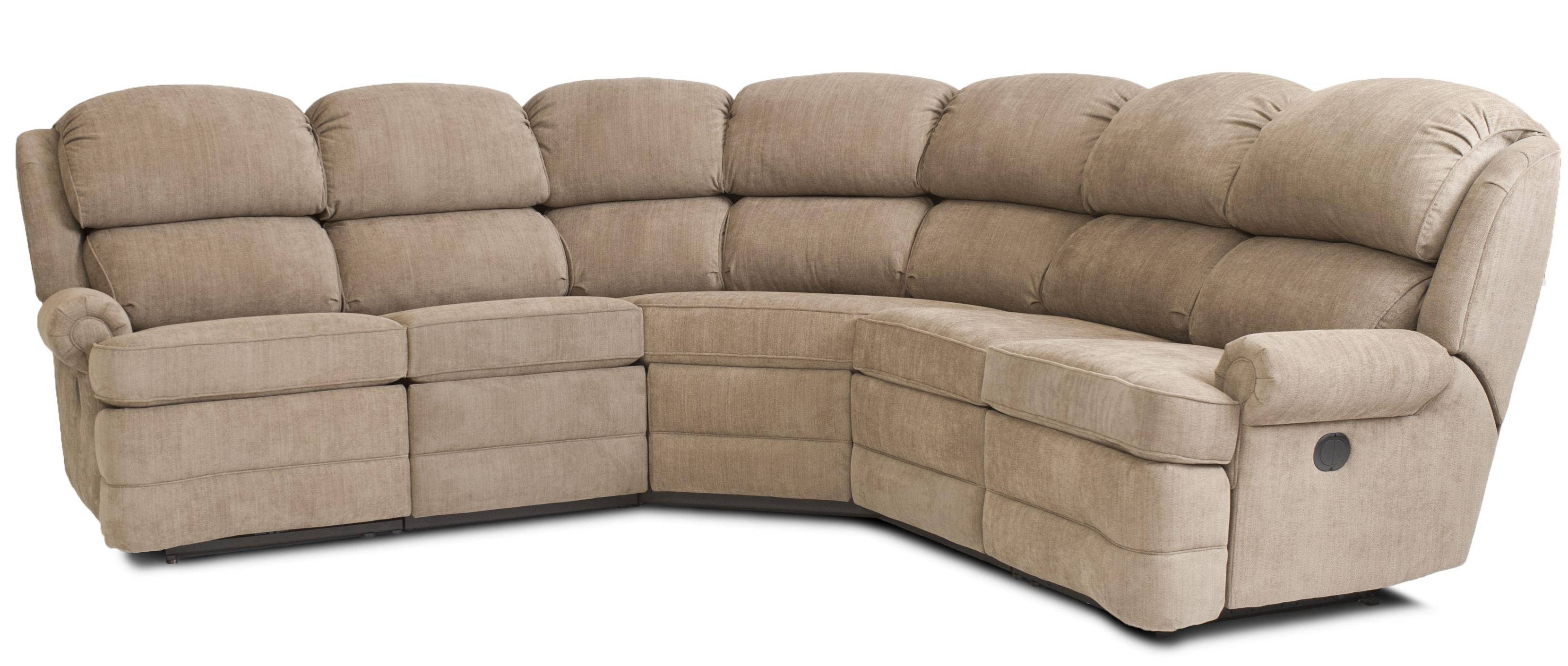 Furniture: Sectional Reclining Sofas | Bonded Leather Sectional throughout Small Sectional Sofa (Image 13 of 30)