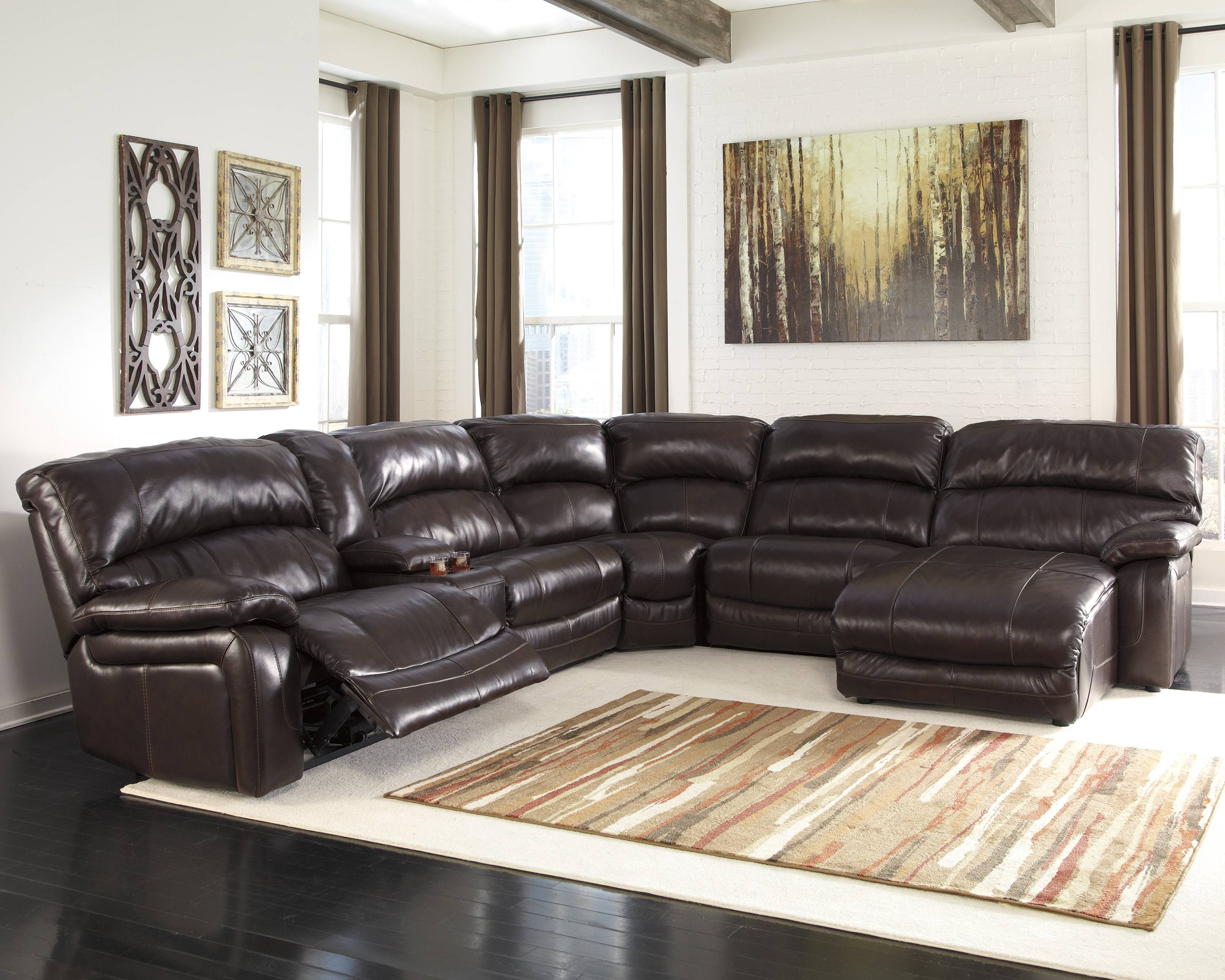 Furniture: Sectional Sofa With Recliner | Sears Sectional Couch inside Craftsman Sectional Sofa (Image 16 of 30)
