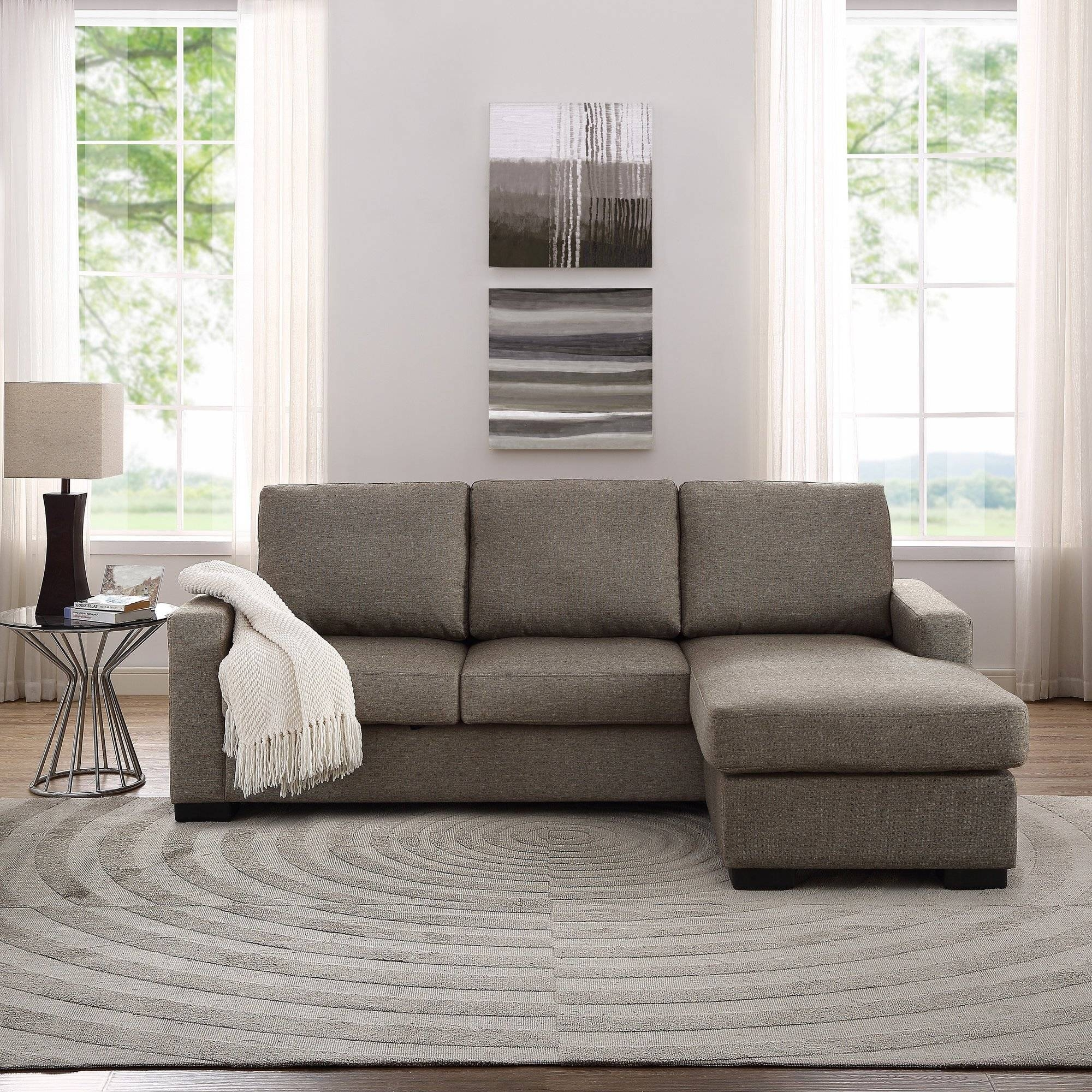 Furniture: Sectional Sofas Amazon | Tufted Sectional Sofa Chaise with regard to Tufted Sectional Sofa With Chaise (Image 8 of 30)